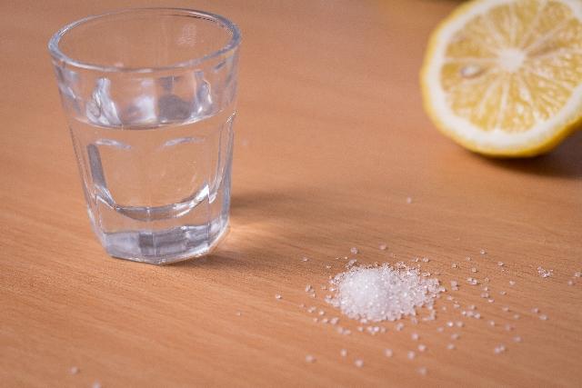 水とレモンとクエン酸