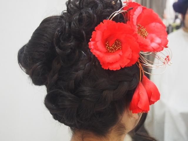 髪型の参考