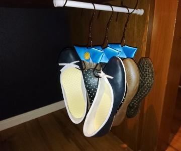 クローゼット風の靴収納