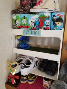 DIY靴箱