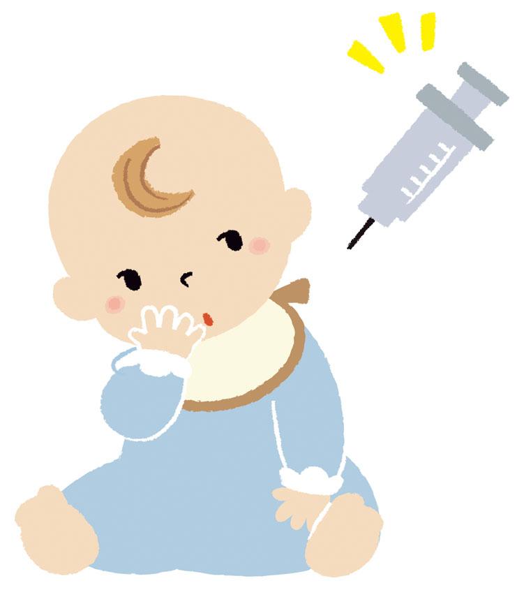 赤ちゃん 注射