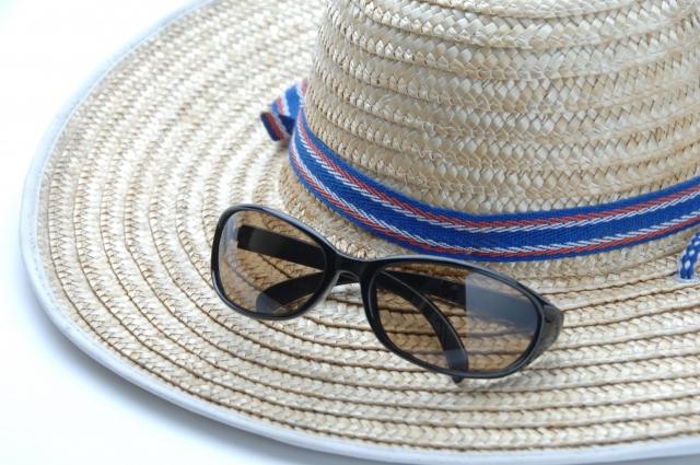 帽子 サングラス