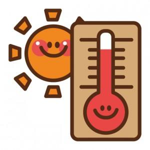 太陽 温度計