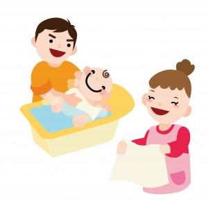 新生児 沐浴