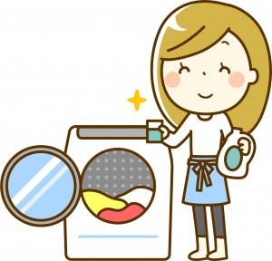 洗濯機 女性