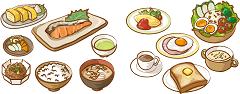 いろんな料理