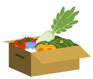 仕送り 野菜