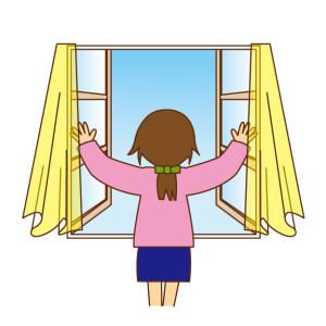 窓 開ける