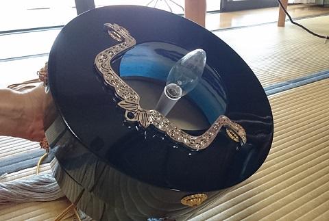 盆提灯の電球