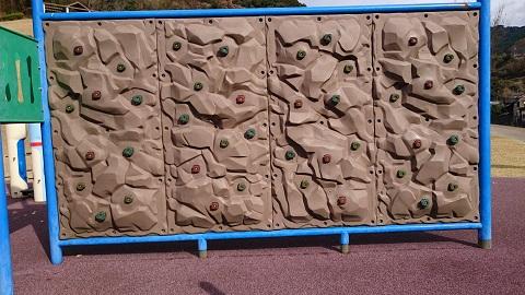 クライミング用の壁