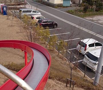 龍峯やまびこ公園の駐車場