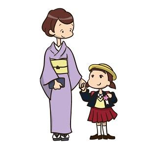 入学式 親子