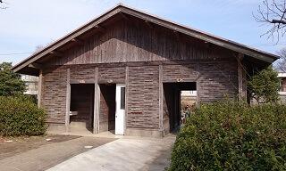 江津湖公園のトイレ