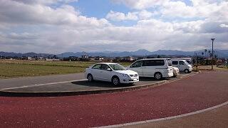 鏡ヶ池公園の駐車場