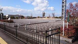 鏡ヶ池公園の臨時駐車場