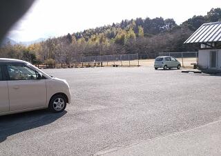 竜北公園の駐車場