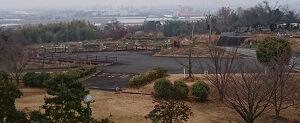 つつじヶ丘公園の駐車場