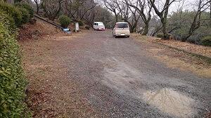 つつじヶ丘自然公園の駐車場